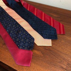 Lot of 5 ties